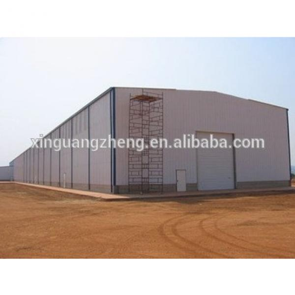 fireproof prefabricated steel structure warehouse #1 image