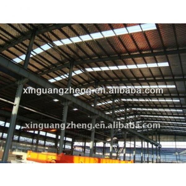 prefab light structural steel frame building #1 image