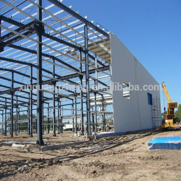 china light steel structure prefabricated warehouse #1 image