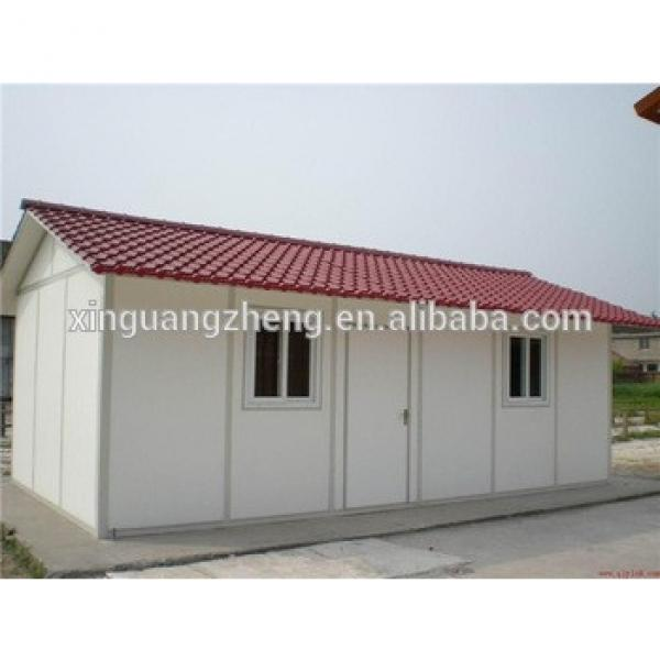 temporary portable low cost prefab house #1 image