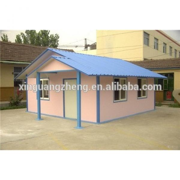 steel frame easy assembly eps sandwich panels prefab house #1 image