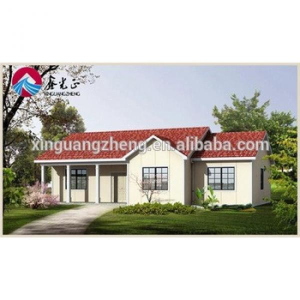 colour cladding steel structure modern prefab house #1 image