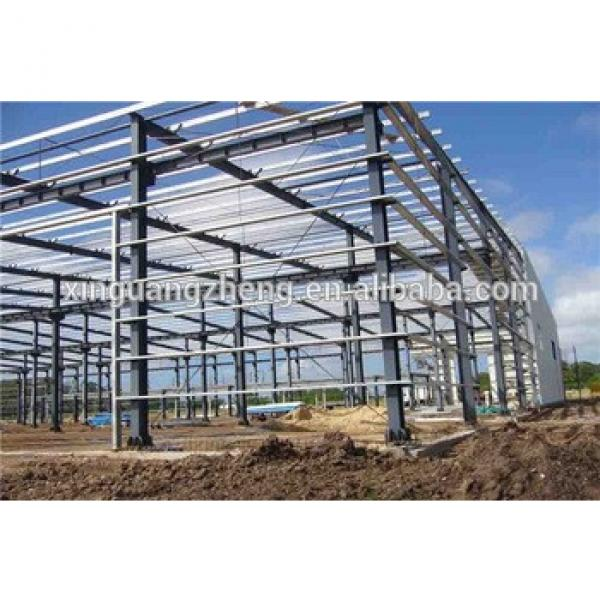 steel frame economic large span steel logistics warehouse #1 image