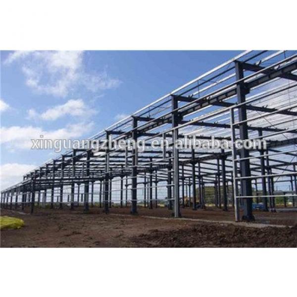 well welded multipurpose low cost light prefab steel framing warehouse #1 image