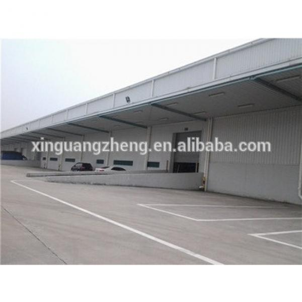 steel structure anti-seismic qatar structural steel frame warehouse #1 image