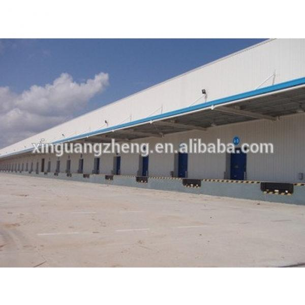 fast construction removable long span steel frame warehouse building design #1 image