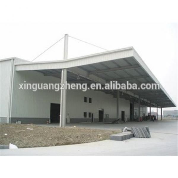 light multipurpose large span industrial warehouse steel design #1 image