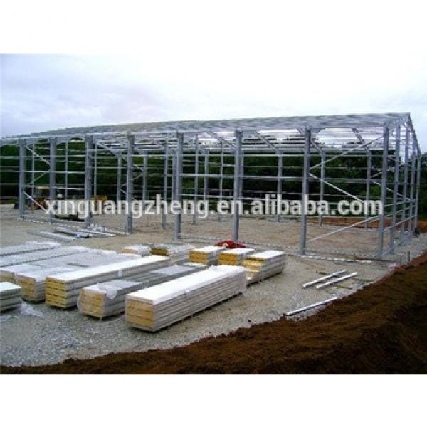 steel structure fast install warehouse interior structure #1 image