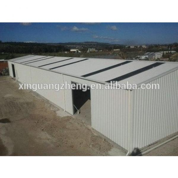 practical designed light prefab steel fabrication warehouse in sudan #1 image