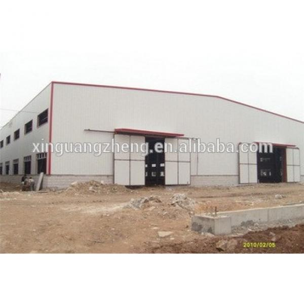 practical designed turnkey project steel structure frame warehouse shed #1 image