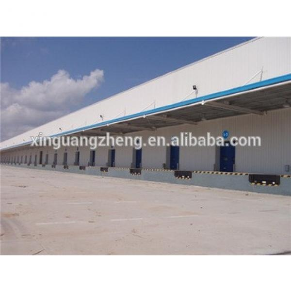 customized clear span modern steel warehouse in ethiopia #1 image