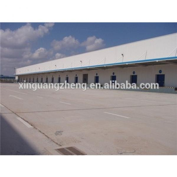large span fast construction small warehouse layout design #1 image