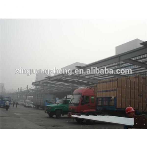pre engineered with mezzanin prefab warehouse fabricator #1 image