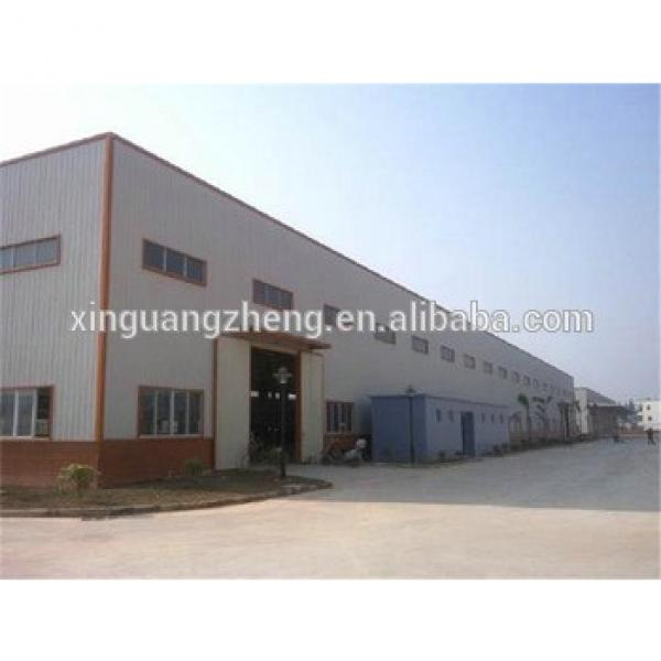 qualified pre engineered multi-span steel structure building #1 image