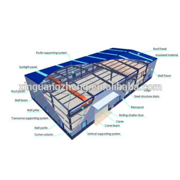 Steel Structure Workshop Warehouse Design And Manufacture from China #1 image