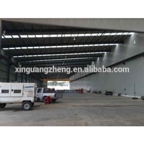 construction design clear span prefab warehouse fabricator #1 image