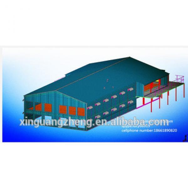 light steel frame supermarket #1 image