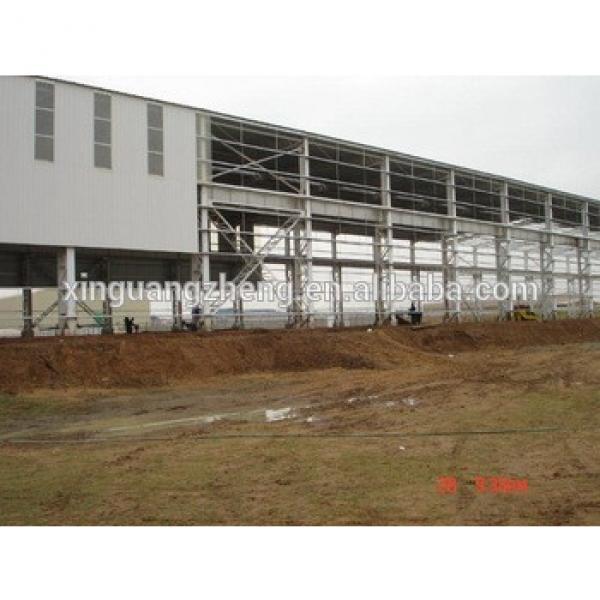 prefabricated steel frame warehouse, light steel frame warehouse #1 image