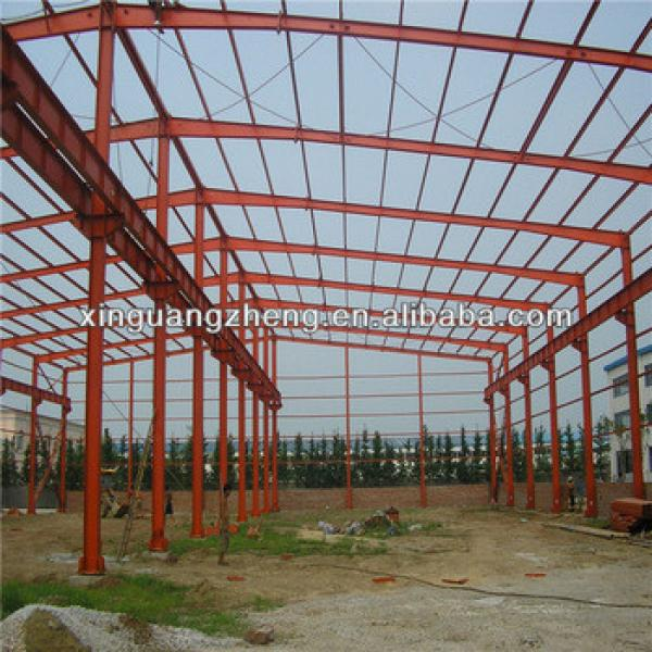large span steel space frame structure warehouse low cost factory workshop steel building #1 image