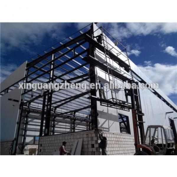 Workshop building steel structure and sandwich panel #1 image