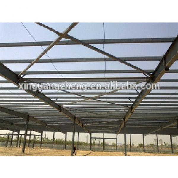 Prefabricated light steel frame for industrial hall #1 image