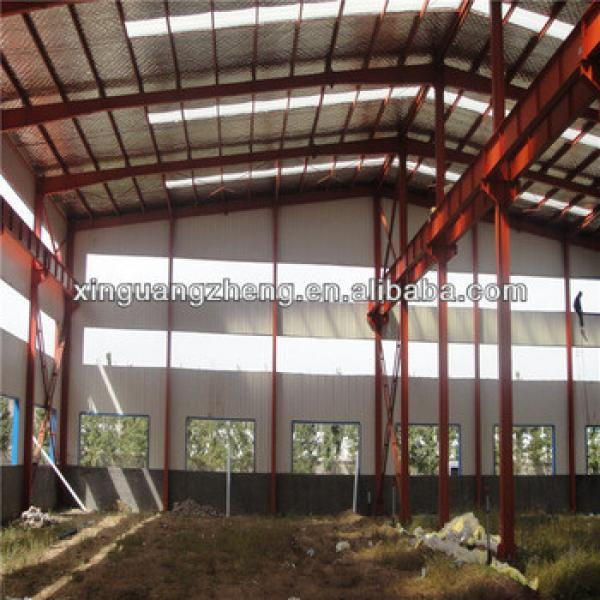 light steel truss frame warehouse pre engineered steel structure garage steel fabrication plant #1 image