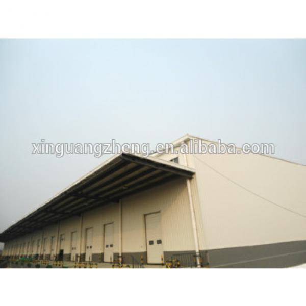 steel structure fireproof eps sandwich panel warehouse #1 image