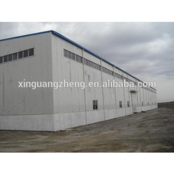 prefabricated steel structure large span construction warehouse building for sale #1 image