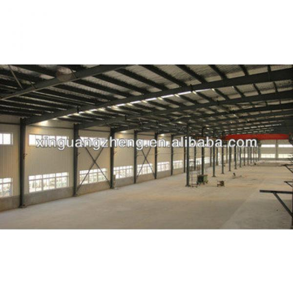 low cost prefabricated Steel Structure building #1 image