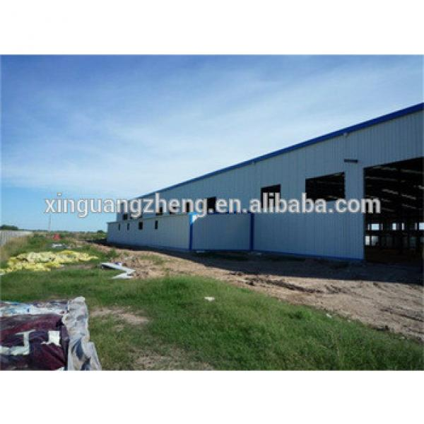 Prefaricated high strength light steel structure warehouse,prefabricated steel structure #1 image