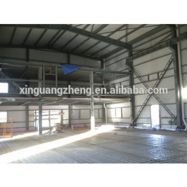 ISO & CE Certificated prefab steel logistics building shed #1 image