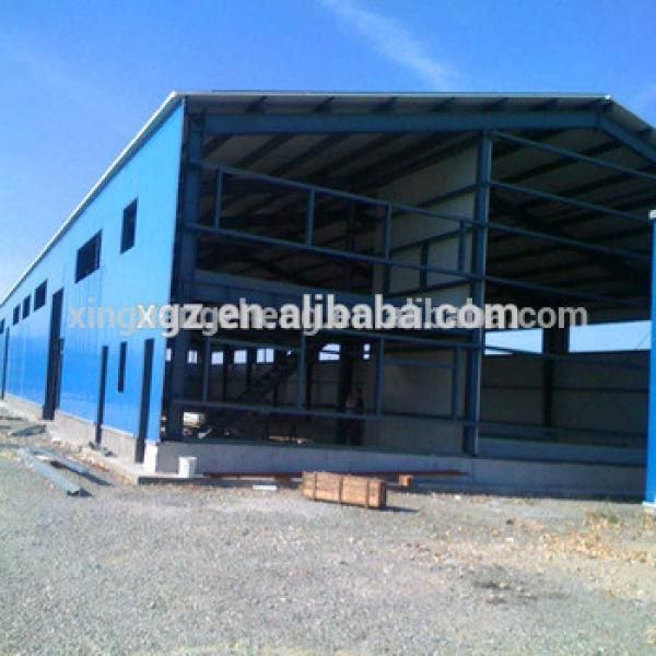 Ethiopia Large Pre Engineering Two-story Steel Structure Warehouse #1 image