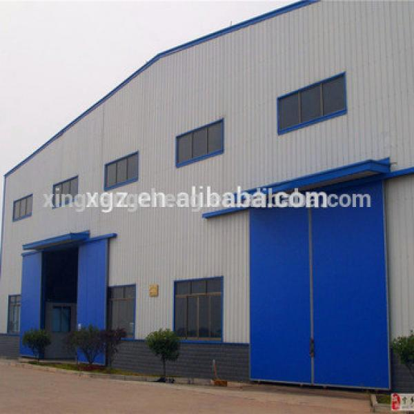 Modern Design Steel Structure Ethiopia Prefab Warehouse #1 image