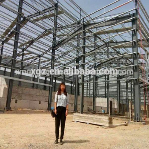 China Low Price Light Steel Prefabricated Warehouse/Hangar #1 image