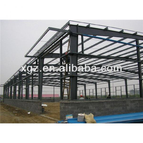 light prefabricated metal building shed #1 image