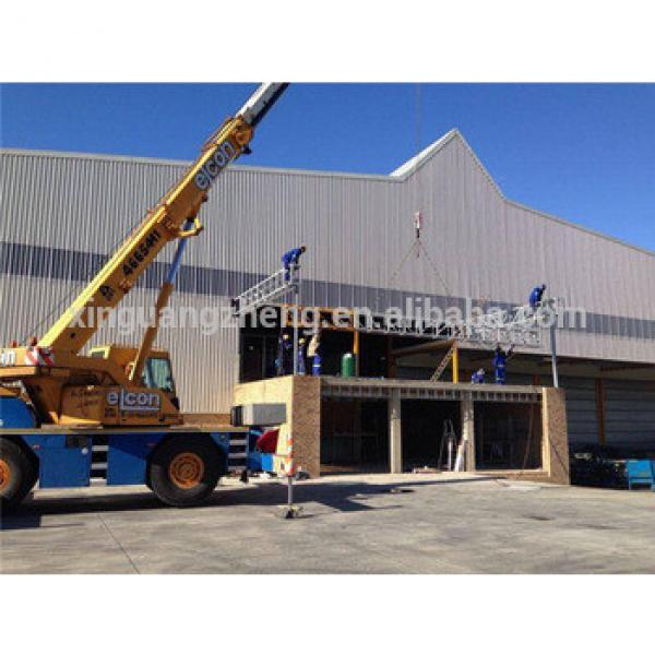 portable prefabricated steel structure logistics warehouse #1 image