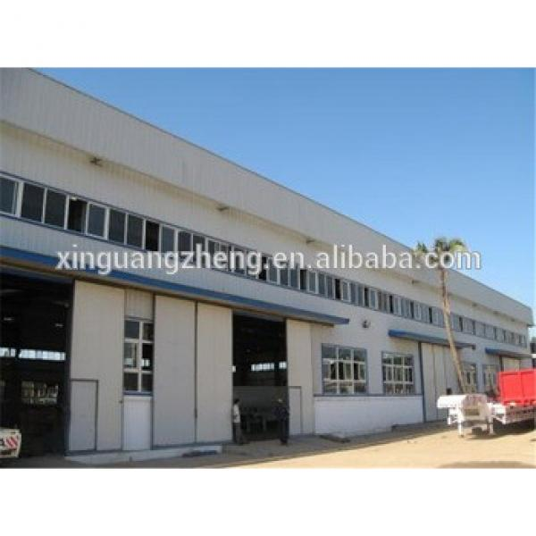 Q345B grade steel structure workshop for rice milling plant #1 image