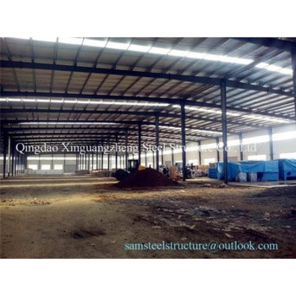 Prefabricated Qatar structural steel frame warehouse #1 image