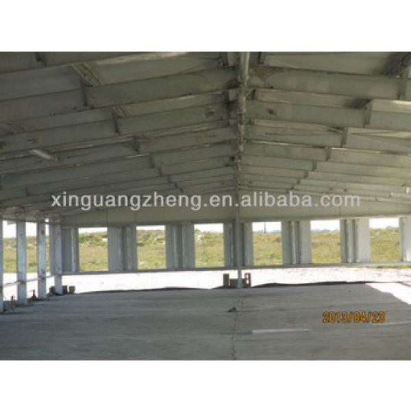 Light Prefabricated steel structure Basketball Court house/chicken shed/workshop/project #1 image