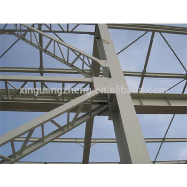 prefabricated construction design steel structure crane warehouse #1 image