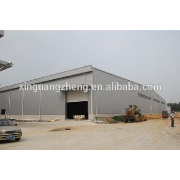 construction design and installation prefabricated warehouse factory steel structure building #1 image