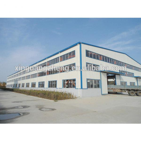 construction light steel structure ready made warehouse #1 image