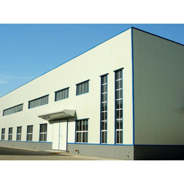 prefabricated construction steel structure storage warehouse #1 image