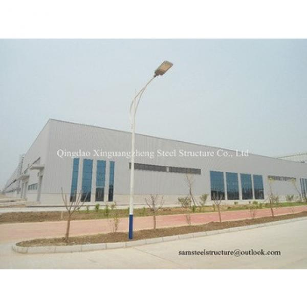 Double slope steel warehouse steel workshop #1 image