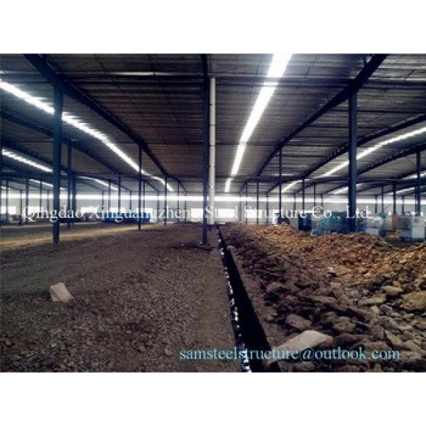 Cheap large span steel structure warehouse factory #1 image