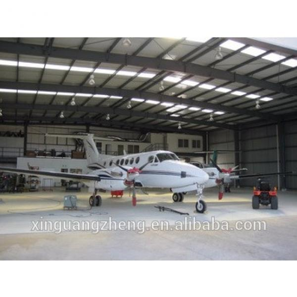 Long lifetime Steel structure frame Prefabricated CE certifiction aircraft hanger #1 image