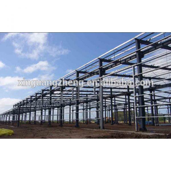High Quality Steel Frame Building Industrial Workshop Construction Building #1 image
