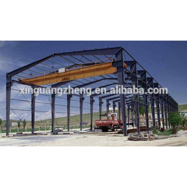 China Low Cost High Steel Structure Building Industrial Construction Warehouse buildings #1 image