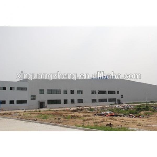 pre-engineered structural steel workshop building #1 image