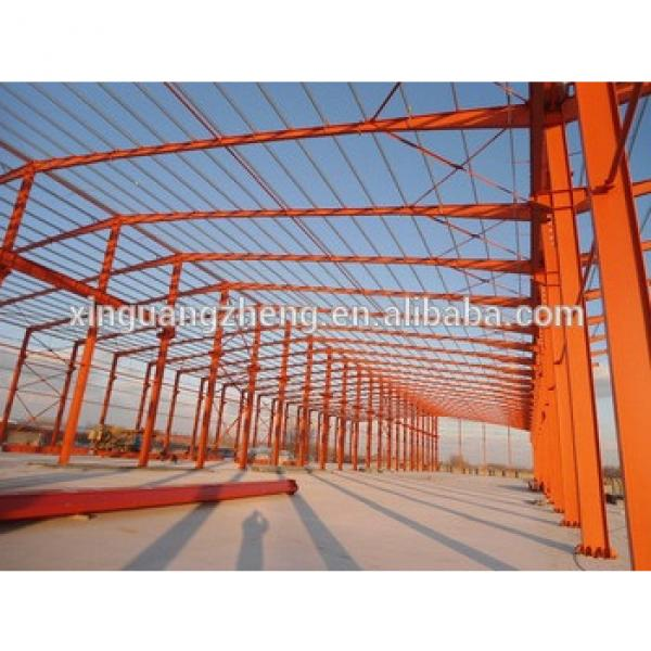 portable large span prefab house building steel frames workshop construction #1 image